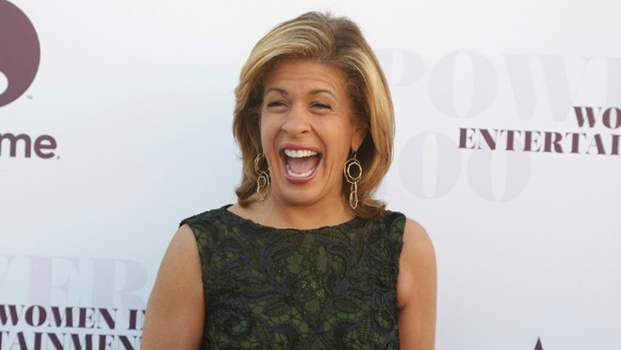 "Hoda Kotb helped a pregnant model who fainted on the ""Today"" show."