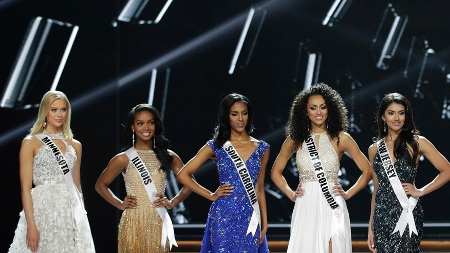 Miss USA says health care 'should be a right'
