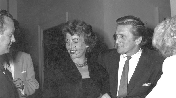 Kirk and Anne Douglas 4