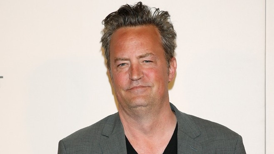 "Matthew Perry talked about ""Friends"" residual checks."