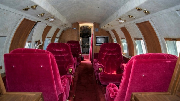 Elvis Presley's 1962 Lockheed Jetstar private jet going on the auction block