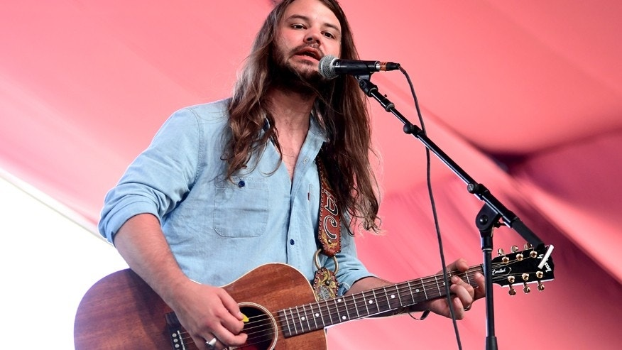 Brent Cobb performs on the Mustang Stage during day 2 of 2017 Stagecoach California's Country Music Festival at the Empire Polo Club on April 29, 2017 in Indio, California.