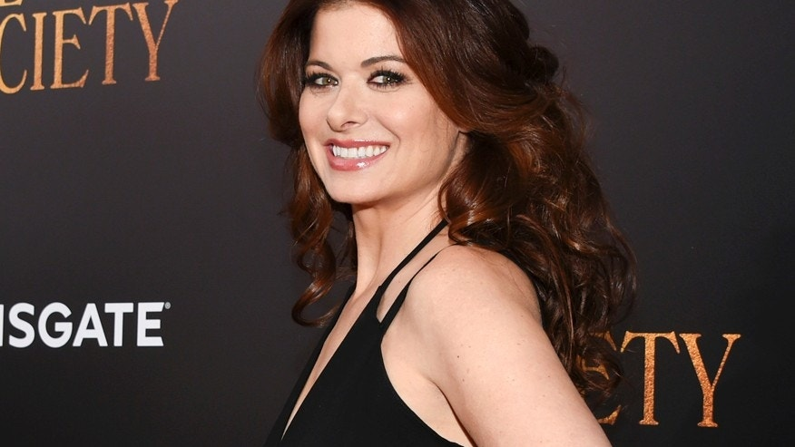 "This July 13, 2016 file photo shows actress Debra Messing at the premiere of ""Cafe Society"", in New York."