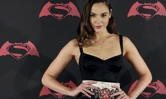 "Actress Gal Gadot poses during a photocall to promote the movie ""Batman v Superman: Dawn Of Justice"" in Mexico City, Mexico, March 19, 2016."