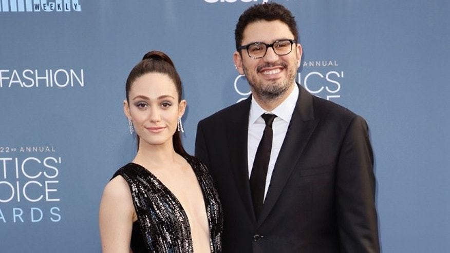 Emmy Rossum and Sam Esmail married over the weekend.