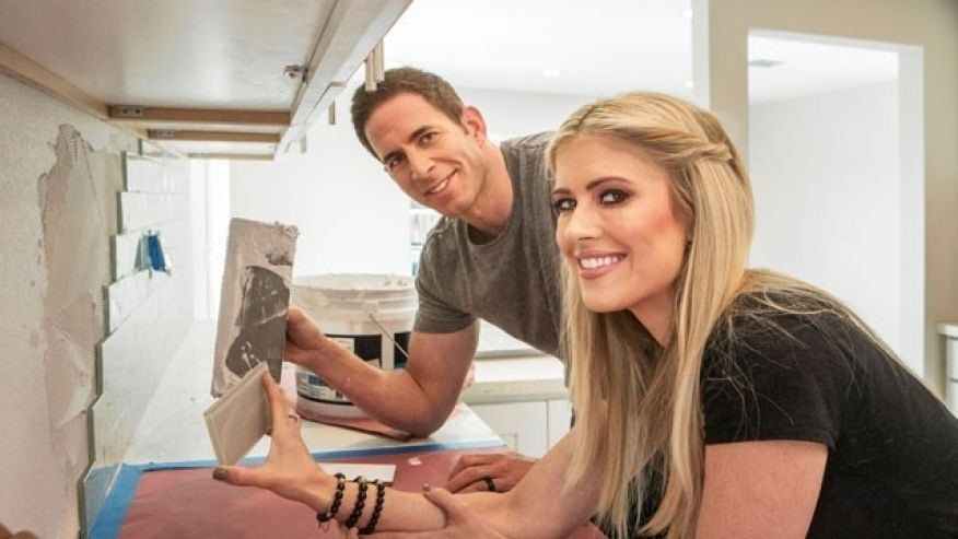 """Flip or Flop"" stars Tarek and Christina El Moussa."