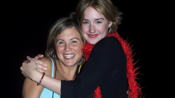"Actresses Tracey Gold (L) and Ashley Johnson, who appeared as youngsters on the series ""Growing Pains,"" and who will be featured in ""Growing Pains: A Reunion"" later this Fall, pose as they arrive at ABC's Summer press tour party, July 17 in Pasadena. The party introduced the stars of ABC's fall televison season to tv writers from around the United States.