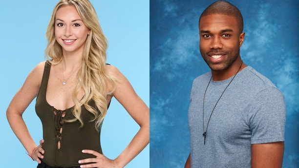 "Corinne Olympios (left) and DeMario Jackson of ""Bachelor in Paradise."""