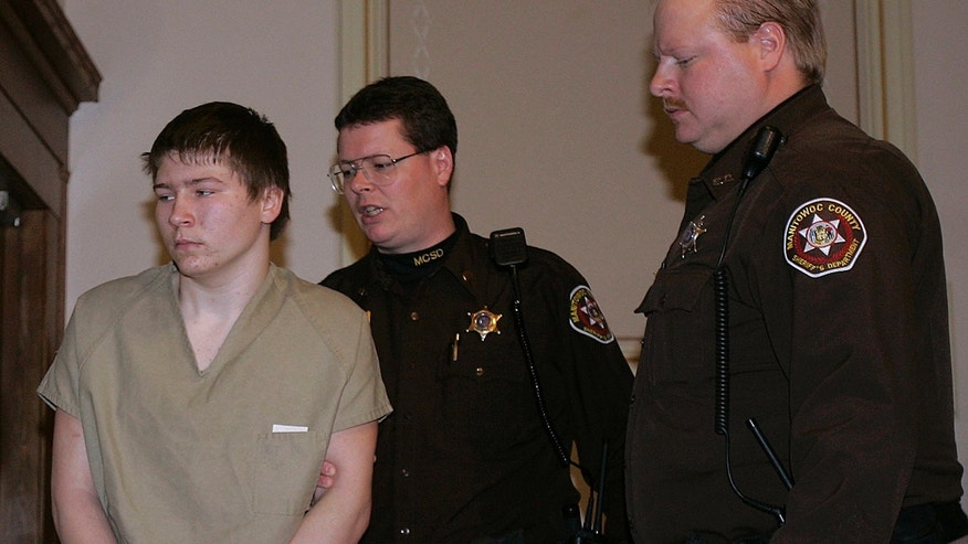 Brendan Dassey is escorted out of a Manitowoc County Circuit courtroom, in Manitowoc, Wis., in March 2006
