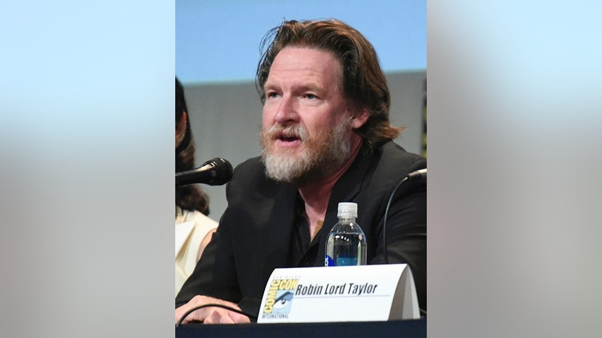 "Donal Logue attends the ""Gotham"" panel at Comic-Con International in San Diego in July 2015"