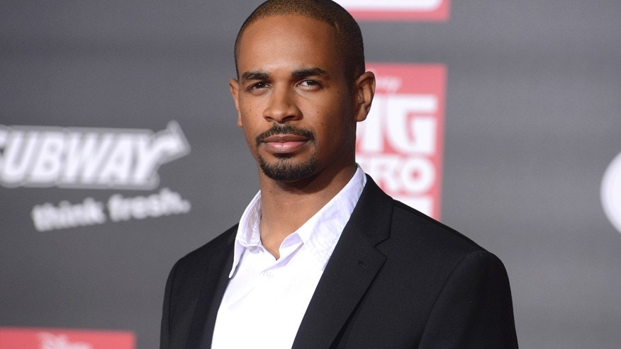 "Cast member Damon Wayans Jr. attends the premiere of the film ""Big Hero 6"" in Los Angeles November 4, 2014."