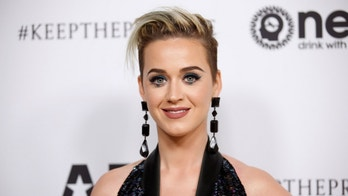 Singer Katy Perry poses at Elton John's 70th Birthday and 50-Year Songwriting Partnership with Bernie Taupin benefiting the Elton John AIDS Foundation and the UCLA Hammer Museum at RED Studios Hollywood in Los Angeles, March 25, 2017. REUTERS/Danny Moloshok - RTX32Q8X