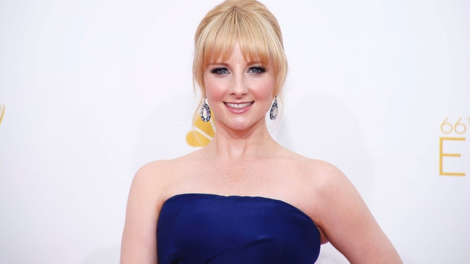 Melissa Rauch arrives at the 66th Primetime Emmy Awards in Los Angeles, California August 25, 2014.