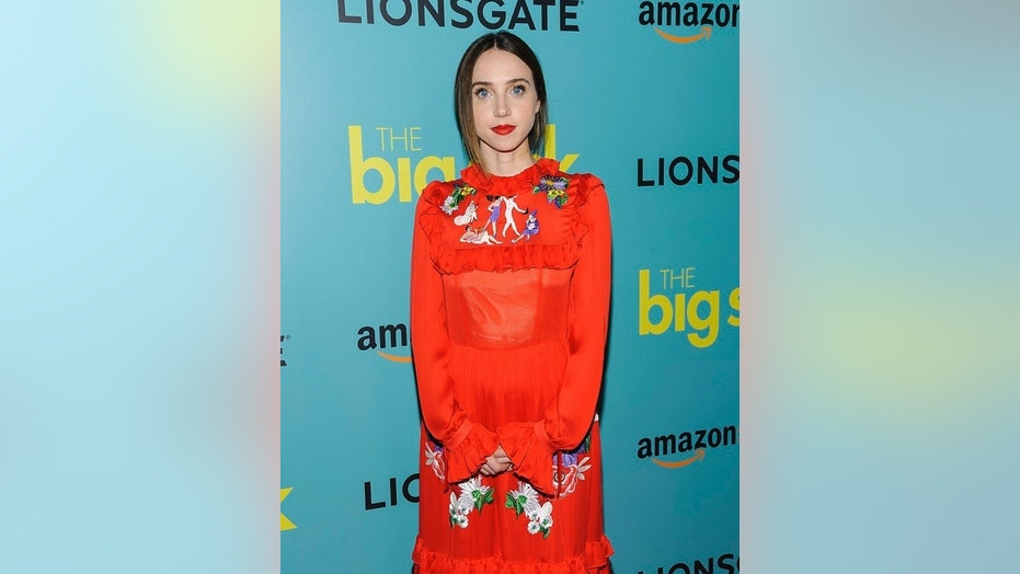 "Actress Zoe Kazan said there is ""so much sexual harassment on set"" during an interview."