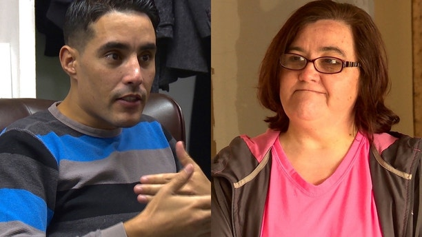"Mohamed (left) and Danielle (right) of TLC's ""90 Day Fiance."""