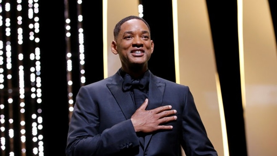 "Will Smith will play the genie in a live-action remake of ""Aladdin."""
