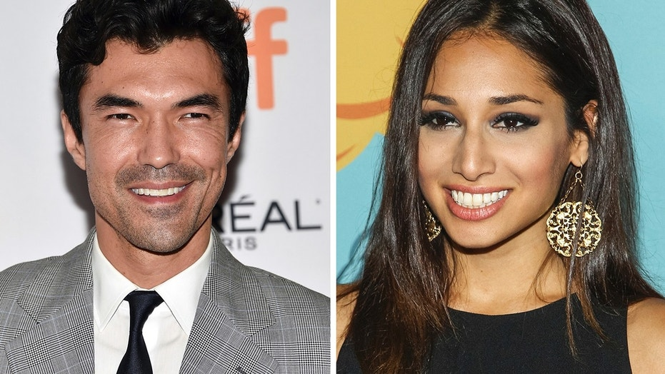 "This combination photo shows actors Ian Anthony Dale, left, and Meaghan Rath, who will join Beulah Koale in the eighth season of the CBS series, ""Hawaii Five-0."""