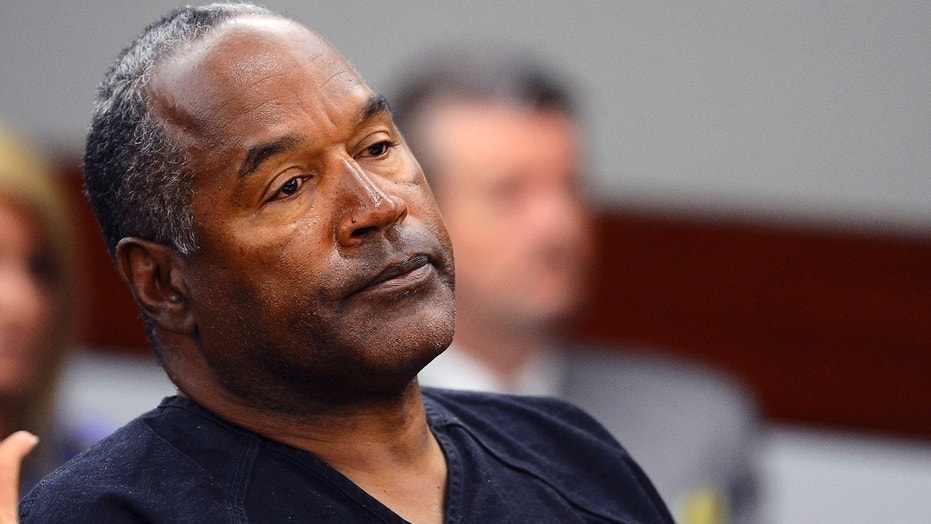 O.J. Simpson appears in Clark County District Court in Las Vegas, Nevada on May 17, 2013.
