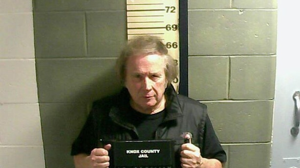 "This Monday, Jan. 18, 2016 photo provided by the Knox County Jail shows Don McLean. A jail supervisor said ""American Pie"" singer McLean bad been arrested on a misdemeanor domestic violence charge in Maine. (Knox County Jail via AP)"
