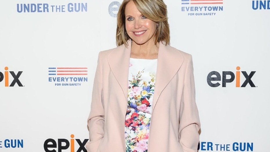 "FILE - In this May 12, 2016, file photo, Katie Couric attends the premiere of her documentary, ""Under The Gun"", hosted by The Cinema Society in New York. Couric has taken responsibility for what she calls a decision that misrepresents the response of gun rights activists to a question she posed in the documentary. (Photo by Christopher Smith/Invision/AP, File)"