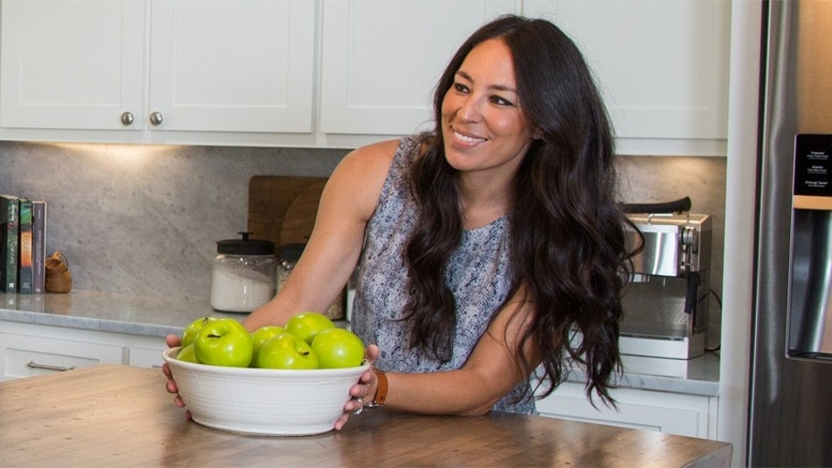 "Joanna Gaines of HGTV's ""Fixer Upper."""