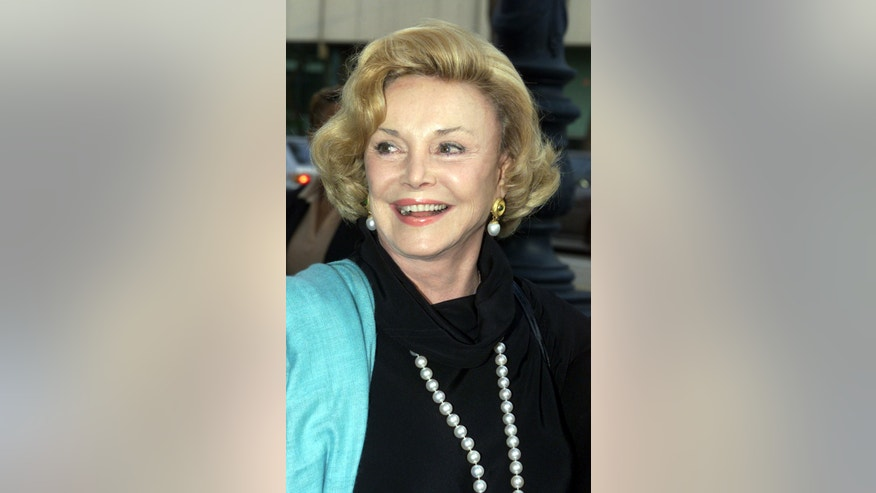 Barbara Sinatra, arrives for a memorial tribute to Austrian film director Billy Wilder in Beverly Hills, May 1, 2002.