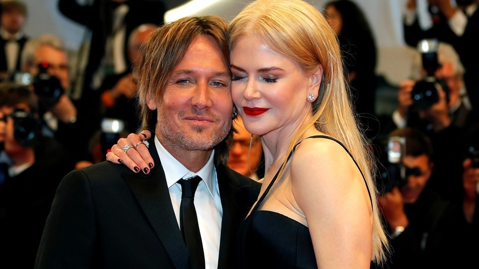 Keith Urbam (left) and Nicole Kidman (right).