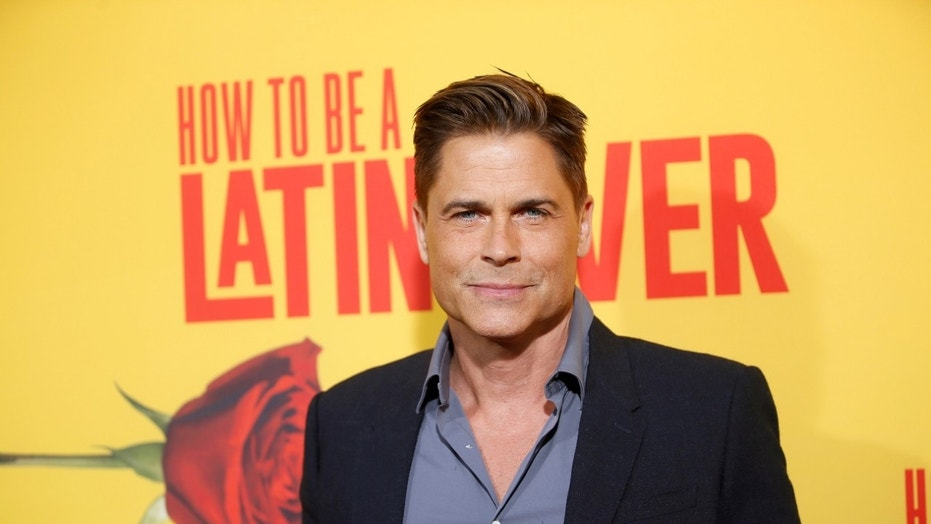 Rob Lowe sent a video message to a fan that is dying of lung cancer.