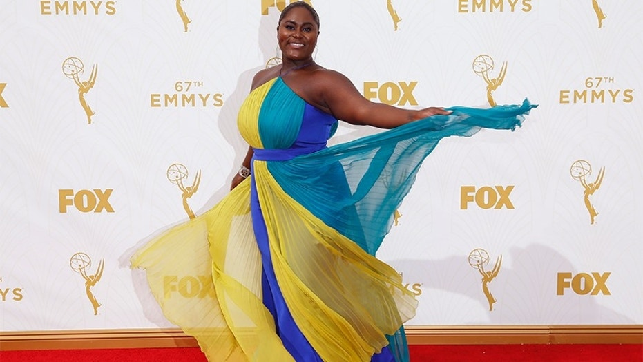 Actress Danielle Brooks poses as she arrives at the 67th Primetime Emmy Awards in Los Angeles, California September 20, 2015.  REUTERS/Mario Anzuoni - RTS228B
