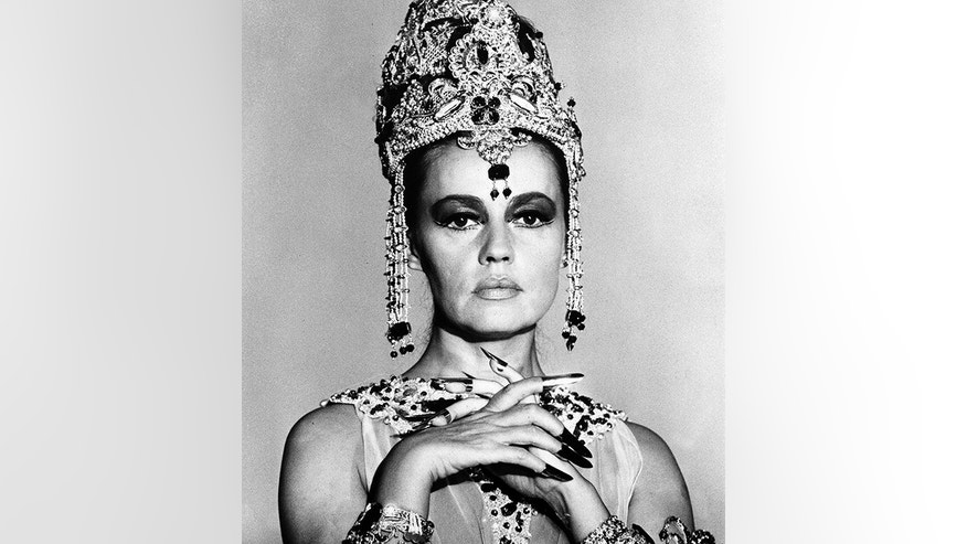 "In this Oct. 1, 1964 file photo French actress Jeanne Moreau is seen in her role as ""Mata Hari, Agent H-21,"" in Paris."