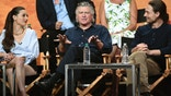 "Vivien Cardone, from left, Treat Williams and Gregory Smith participate in the ""Everwood"" panel during The CW portion of the 2017 Summer TCA's at the Beverly Hilton Hotel on Wednesday, Aug. 2, 2017, in Beverly Hills, Calif. (Photo by Richard Shotwell/Invision/AP)"
