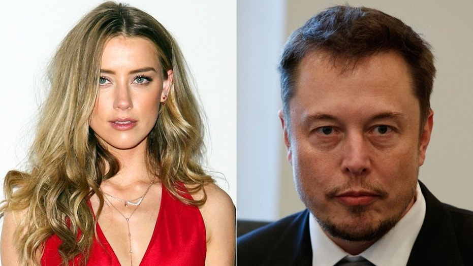 Amber Heard, left, and Elon Musk have reportedly split.