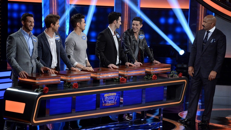 """Celebrity Family Feud"""
