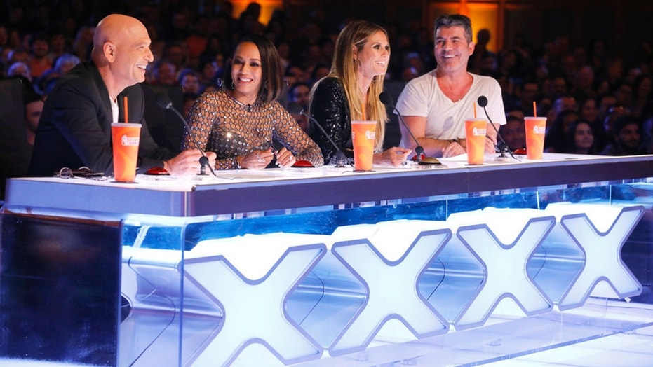 AMERICA'S GOT TALENT -- Auditions Pasadena Civic Auditorium -- Pictured: (l-r) Howie Mandel, Mel B, Heidi Klum, Simon Cowell-- (Photo by: Trae Patton/NBC)