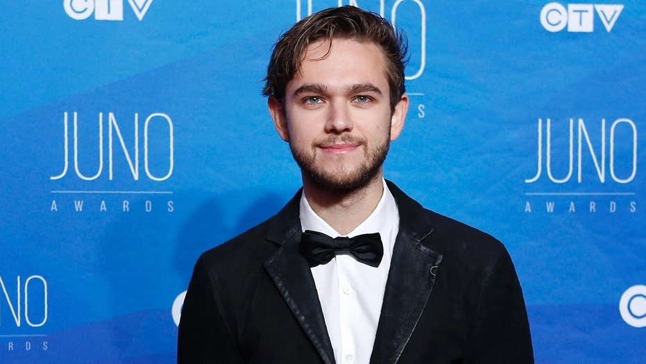 Record producer Zedd arrives on the red carpet for the 2017 Juno Awards in Ottawa, Ontario, Canada, April 2, 2017.