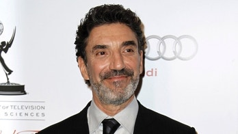 "FILE - This March 1, 2012 file photo shows honoree Chuck Lorre at the Academy of Television Arts and Sciences 21st Annual Hall of Fame Gala in Beverly Hills, Calif. Lorre who writes, produces and is a co-creator of such sitcoms as ""Two and a Half Men"", The Big Bang Theory"" and ""Mike and Molly"" is publishing a coffee table book of the cards called, ""What Doesn't Kill Us, Makes Us Bitter."" The book will be published by Simon & Schuster, a division of CBS Corporation, in October. (AP Photo/Matt Sayles, file)"