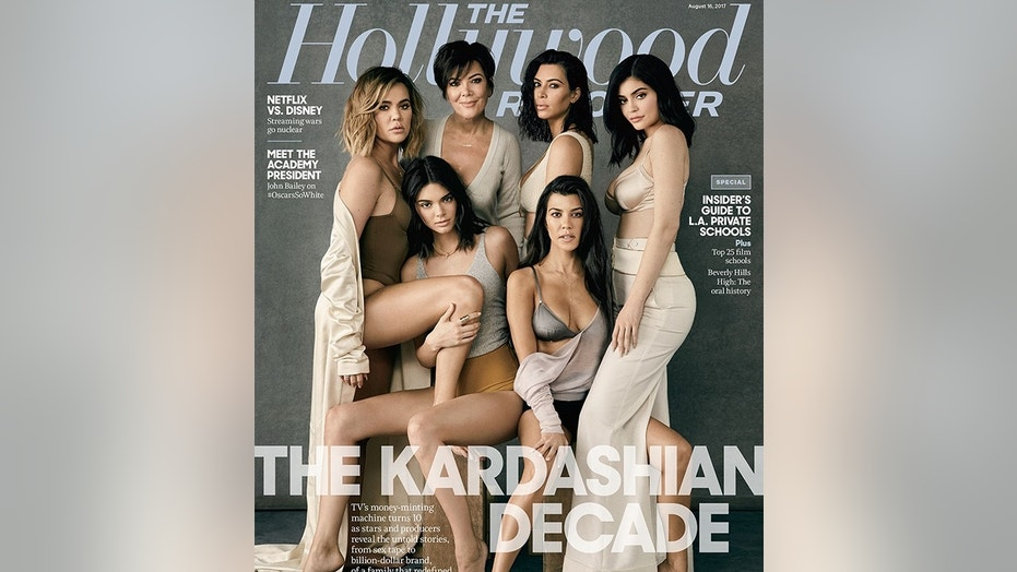 kardashians hollywood reporter cover