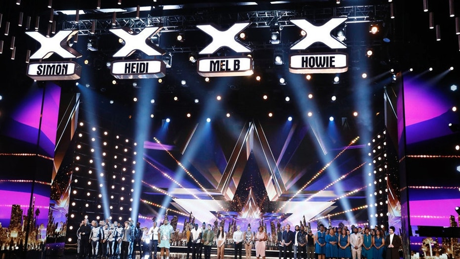 "AMERICA'S GOT TALENT -- ""Live Results 4"" -- Pictured: (l-r) Diavolo, Chase Goehring, Mike Yung, Oscar Hernandez,  Final Draft,  Angelina Hale, Junior & Emily Alabi, Kechi, Oskar & Gaspar, Sara and Hero, DaNell Daymon & Greater Works, Colin Cloud -- (Photo by: Trae Patton/NBC)"