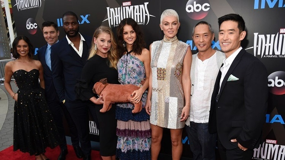 "ABC's and Marvel Television's ""Inhumans"" received disappointing reviews after having an underwhelming turnout at the IMAX premiere."