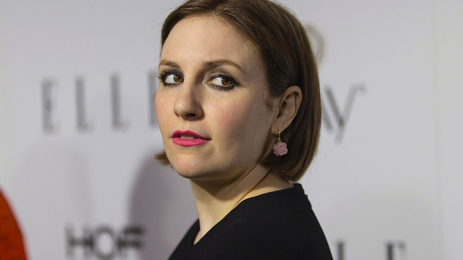 Lena Dunham admitted that former Mets star Lenny Dykstra is making her laugh.