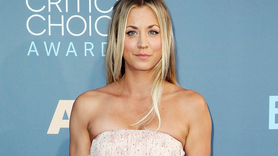 Kaley Cuoco arrives at the 22nd Annual Critics' Choice Awards in Santa Monica, California, U.S., December 11, 2016.