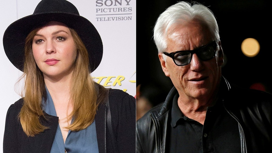 James Woods, right, responded to claims Amber Tamblyn made on social media that he hit on her when she was 16.