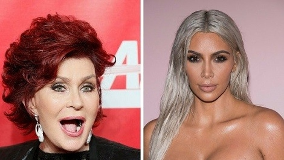 "Sharon Osbourne said she was ""misquoted"" when slamming Kim Kardashian West's nude selfies in an interview."