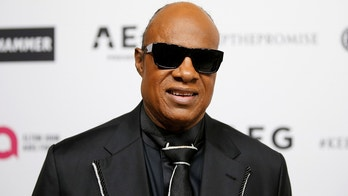 Musician Stevie Wonder poses at Elton John's 70th Birthday and 50-Year Songwriting Partnership with Bernie Taupin benefiting the Elton John AIDS Foundation and the UCLA Hammer Museum at RED Studios Hollywood in Los Angeles, March 25, 2017. REUTERS/Danny Moloshok - RC1580C28EC0