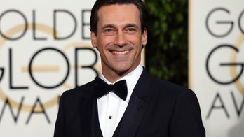 Actor Jon Hamm arrives at the 73rd Golden Globe Awards in Beverly Hills, California January 10, 2016.