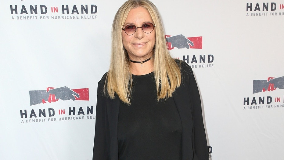 Barbra Streisand attends the Hand in Hand: A Benefit for Hurricane Harvey Relief held at Universal Studios Back Lot on Tuesday, Sept. 12, 2017 in Los Angeles.