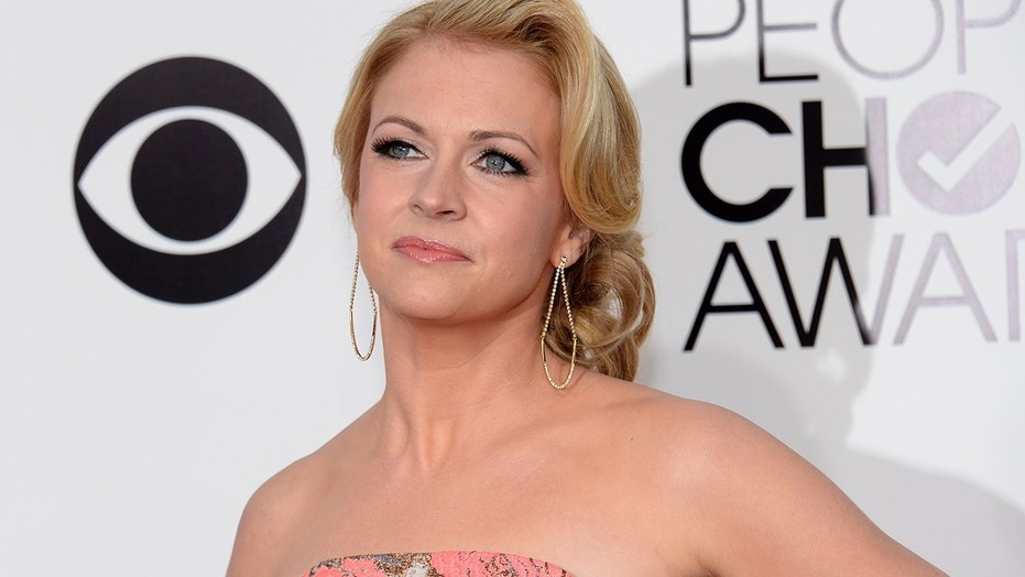 Actress Melissa Joan Hart, pictured here at the 2014 People's Choice Awards, recently came under fire for a post about Hurricane Maria.