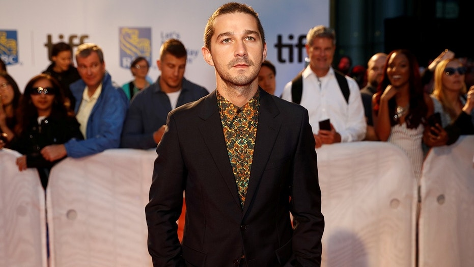 "Actor Shia LaBeouf poses as he arrives on the red carpet for the film ""Borg/McEnroe"" at the Toronto International Film Festival (TIFF), in Toronto, Ontario, Canada, September 7, 2017.    REUTERS/Mark Blinch - RC121E1B7260"