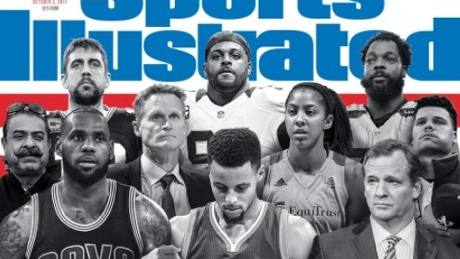 Sports Illustrated leaves Colin Kaepernick off cover featuring protesting athletes, supporters