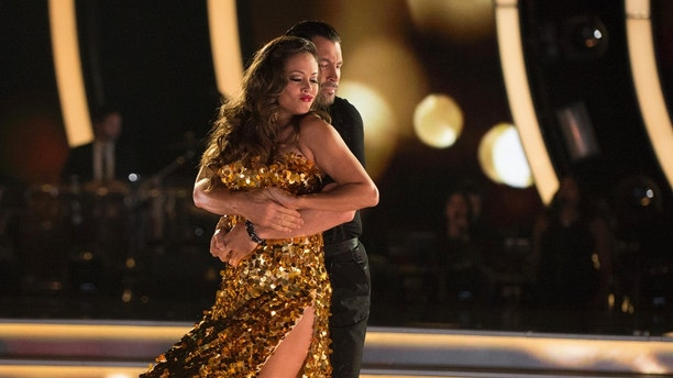 "DANCING WITH THE STARS - ""Episode 2502"" - The 13 celebrities dance to some of the most classic ballroom styles that everyone knows and loves, as Ballroom Night comes to ""Dancing with the Stars,"" live, MONDAY, SEPTEMBER 25 (8:00-10:01 p.m. EDT), on The ABC Television Network. Each couple will perform timeless favorites, including a quickstep, waltz, tango, foxtrot or Viennese waltz, vying for America's vote. At the end of the night, the first elimination of the season will take place. (ABC/Eric McCandless)